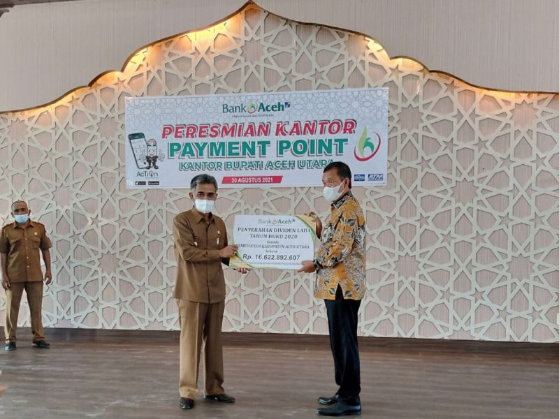 Cek Mad resmikan payment point Bank Aceh