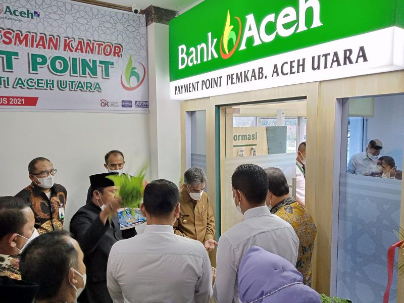 Peresmian Payment Point Bank Aceh